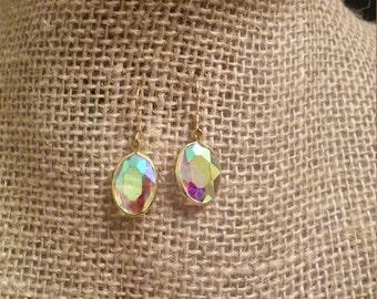 Iridescent Jewel Earrings
