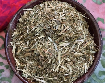 Oatstraw Avena Sativa organic herb cut and sifted One Ounce 28g tea herbal