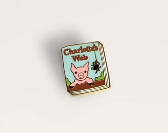 Book Pin: Charlotte's Web