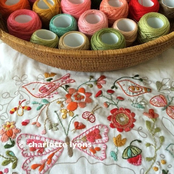 into the wild stitch sampler -white- to personalize and color with thread