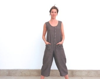 Organic Linen Surplus Jumpsuit