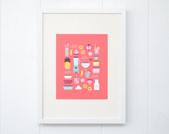 8x10 It's a Smoothie Kind of Day Print