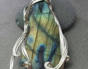 Enchanted Mirror Labradorite Necklace