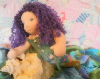 "Mermaid Waldorf Doll 19"" Custom"