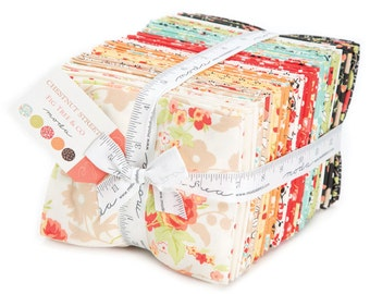 Chestnut Street Fat Quarter Bundle from Fig Tree and Co. for Moda Fabrics, 40 fat quarters