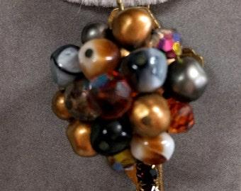 Embellished Key Pendant