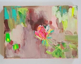 Rose II Acrylic Painting