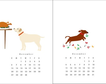 Dog Calendar April 2016 -March 2017 Good Dogs Dog Tricks