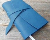 2016 Weekly Planner - 60% off - blue leather