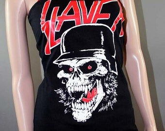 Slayer Heavy Metal Tunic Tank Top
