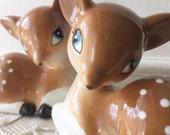 """New One Hundred Eighty Degrees Tinsel Town Reindeer 3"""" Salt & Pepper Shaker Set Deer"""