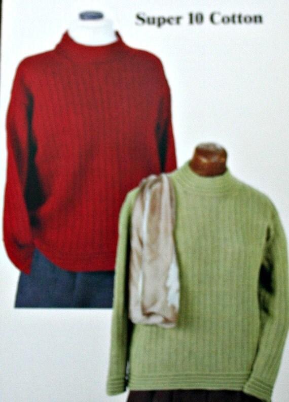 Xl Sweater Knitting Pattern : Turtleneck sweater knitting pattern sr kertzer s sizes