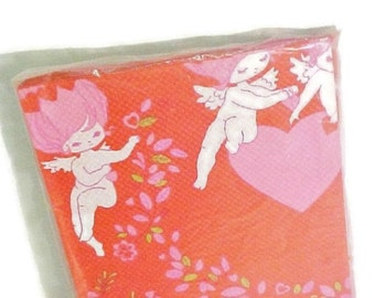 Vintage Valentine Paper Table Cover For Party