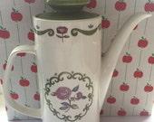 Vintage Meakin coffee pot