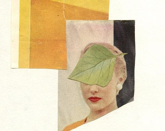 A brief leave of absence. Limited edition print by Vivienne Strauss.