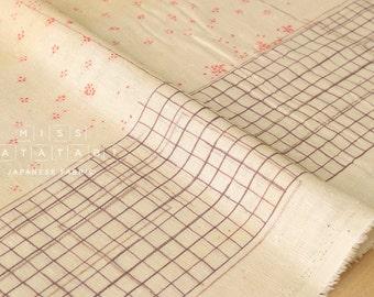 Nani Iro Kokka Japanese Fabric bed grass cozy nep double gauze - B - 50cm