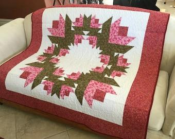 Patchwork Lap quilt #YP0121