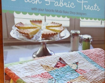 Quiltsy Destash Party - Fresh Fabric Treats Quilt Book
