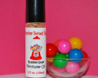 Bubble Gum Perfume Oil Roll-On