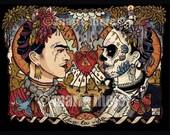 Frida Kahlo Doppelgänger print