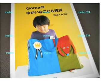 Japanese Pattern Book Sewing School Bags and Accessories Goma