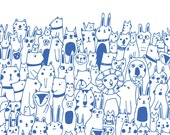 Hello Friends - Lisa Congdon Print