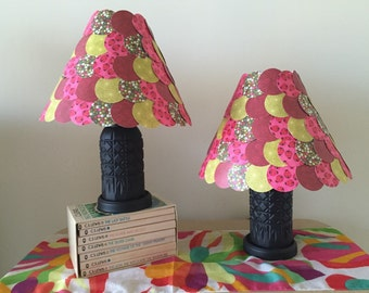 Ladybugs and Watermelon lamps