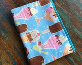 medium zipper pouch i scream for ice cream
