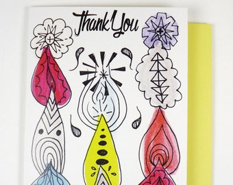 Thank You TOTEMS greeting card