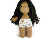 Waldorf doll underwear, TWO pairs of underwear for your 14, 15 or 16 in doll, straight leg doll underwear, boy style doll underwear