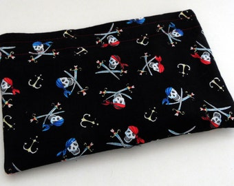 OOPS!  Second Waterproof and Food Safe Pirate Snack Bag, Reusable Snack Bag, Eco Friendly Snack Bag, Pirate Snack Bag, Second Oops Snack Bag