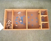 Free Shipping Vintage Skittles Carrom Game Wood Tops etc with instructions