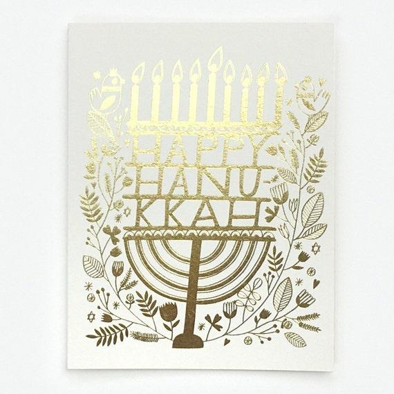 Hanukkah Candles - Greeting Card