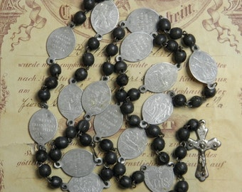 Vintage Rosary Chaplet Mother of Sorrows Way of the Cross