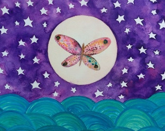 The butterfly moon