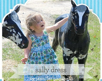 Sis Boom Sally Top and Dress PDF Sewing Pattern