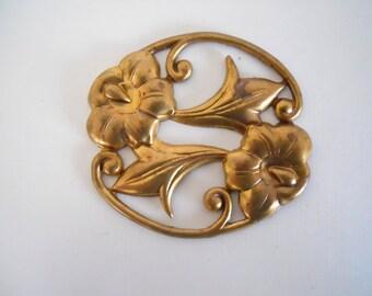 Brass Flower Stamping