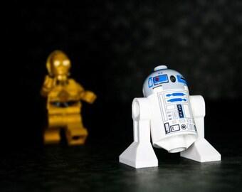 R2D2 Come Back... - R2D2 & C3PO - Photograph - Various Sizes