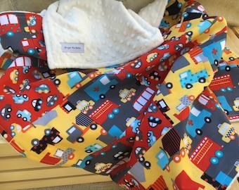 Baby Boy Blanket / Baby Boy Shower Gifts / Baby Blankets for Boys