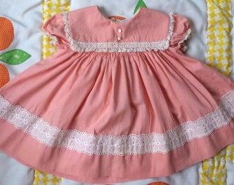 50s Nanette Dress 9/12 Months