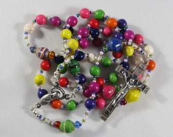 Colorful Rosary *FREE SHIPPING*
