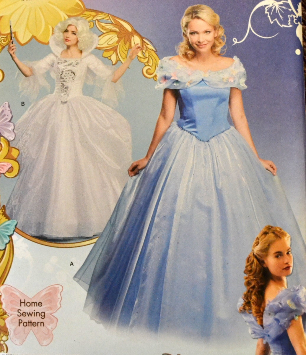Sewing Pattern Simplicity 1026 Costume Misses' Cinderella