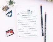 French Bulldog Notepad - To-Do List - Very Important Notepad - 4.25 x 6 Lined Notepad - Frenchie Notepad - French Bulldog Gift