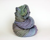 MISTY, grey label merino alpaca hand dyed chunky weight yarn