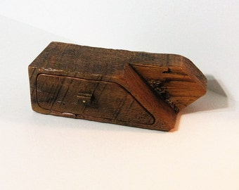 Barn Wood Treasure Box With Drawer