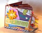 Baby on Board Scrapbook - Pregnancy Paper Bag Album