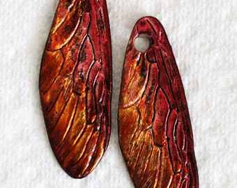stained dragonfly wings by joycelo