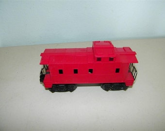 Lionel Timken Red Caboose Train Car Railroad Rail Road 11975