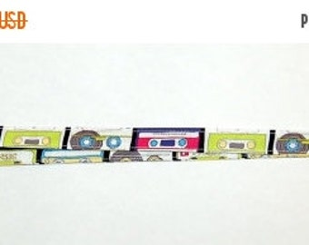 SALE - CASSETTE TAPES Lanyard