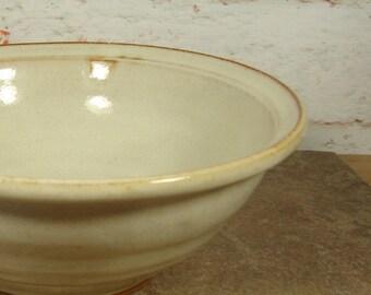 Farmhouse White Serving Bowl
